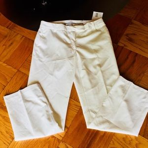 "NWT!Liz Claiborne White ""Audra""The Perfect Trouser"